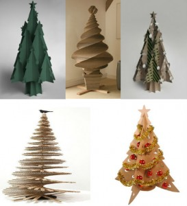 cardboard-creations-christmas-trees